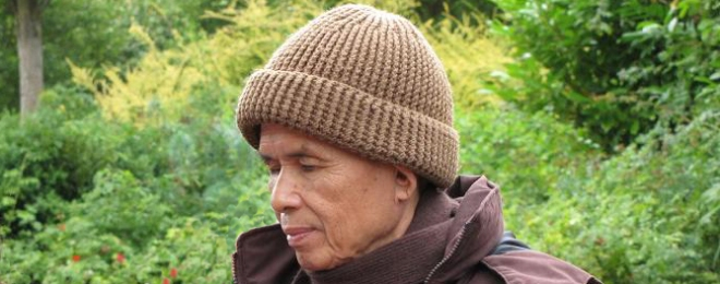 Thich Nhat Hanh in the UK 2012